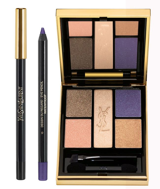 YSL Saharienne Heat Makeup Collection for Summer 2013 eyes