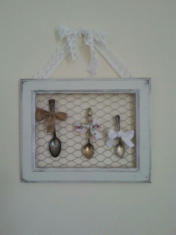 Quadretto Shabby Grillage A Poule