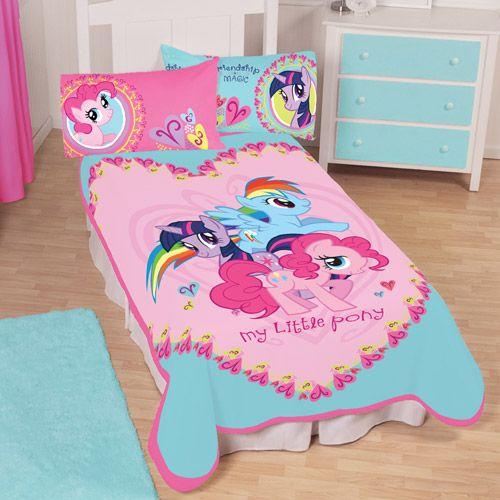 My Little Pony 62 X 90 Twin Plush Blanket