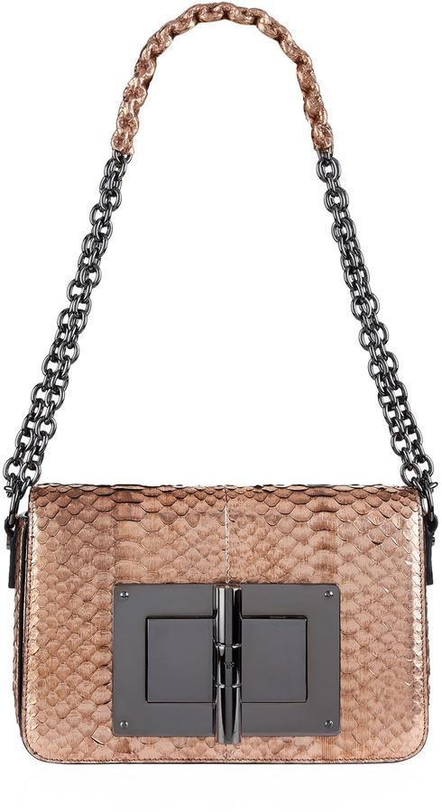 6a05ffc19f6b Tom Ford Medium Natalia Python Shoulder Bag  ladiespurseandbags ...
