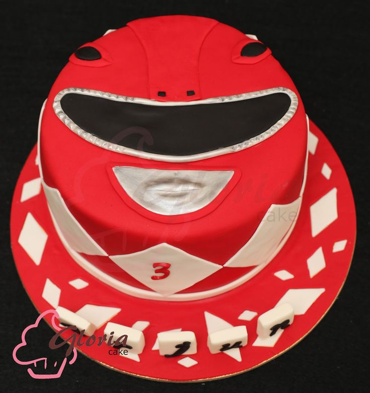 power ranger birthday cake | Gloria Cake
