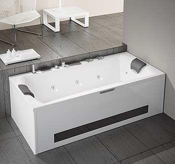baignoire balneo 160x80 baignoire odeon up xcm blanc avec. Black Bedroom Furniture Sets. Home Design Ideas