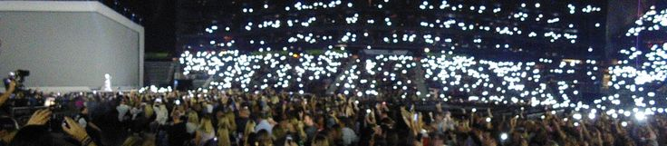 ADELE Concert 10-29-2016 , The light when ADELE was singing , MAKE YOU FEEL MY LOVE.