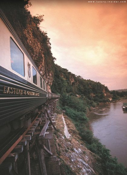 Orient Express- It is totally a dream of mine to ride cross continent on a train in Europe!