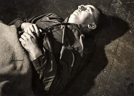 Himmler after his suicide.