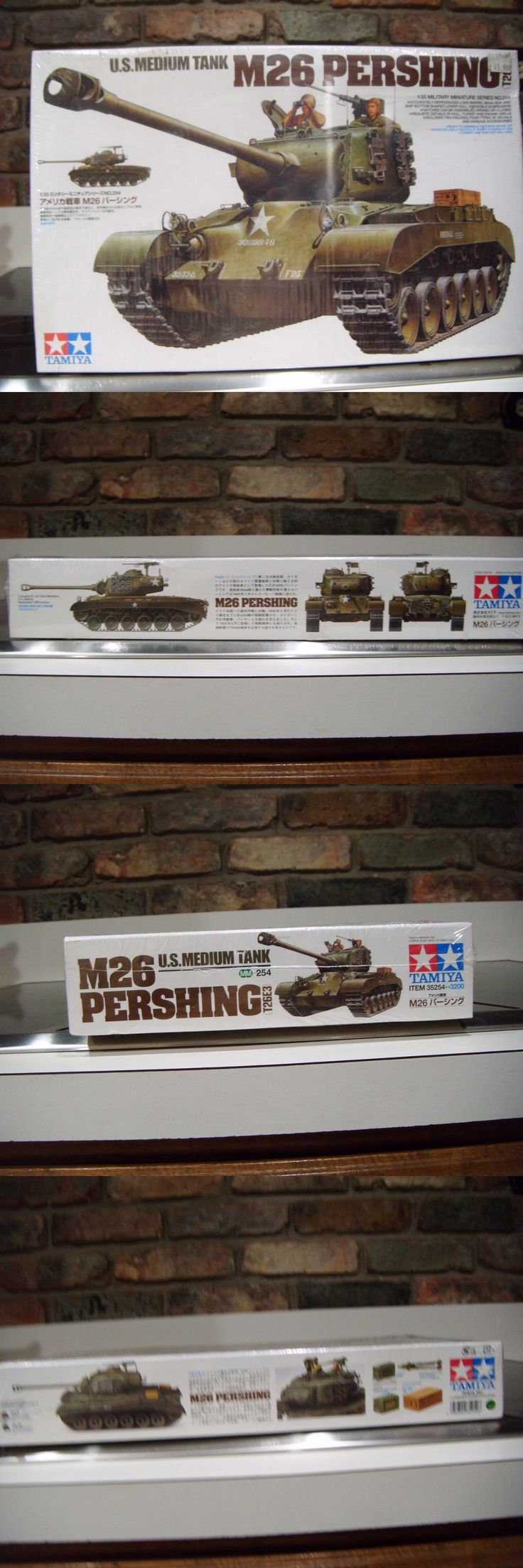 Other Sports Car Models and Kits 2583: Tamiya 1:35 Us Med Tank M26 Pershing - 35254 Sealed -> BUY IT NOW ONLY: $30 on eBay!
