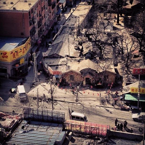 #beijing #haidiandistrict #china #asia #busystreet #restaurant #16thflor