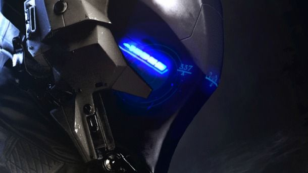 It's time to finally get a good look at the Arkham Knight character.