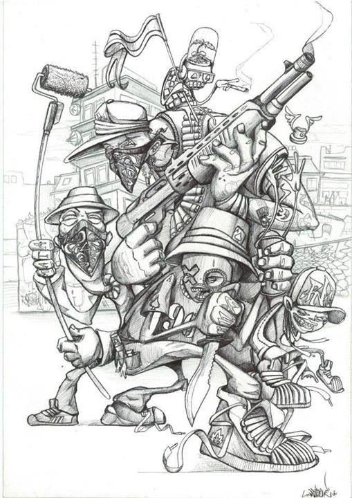 "Graffiti Blackbook work by ""MATA ONE"""