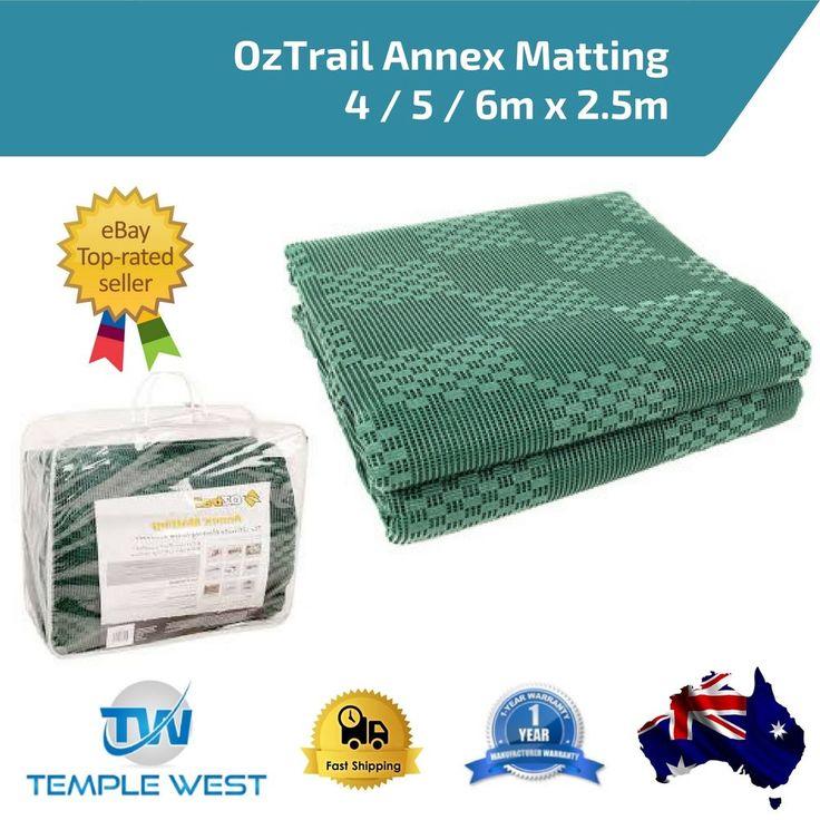 Anti Slip Matting OzTrail Annex Tent Mat Floor Caravan Camping 4/5/ 6m x 2.5m