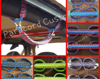 Jeep Paracord Roll Bar Grab Handles