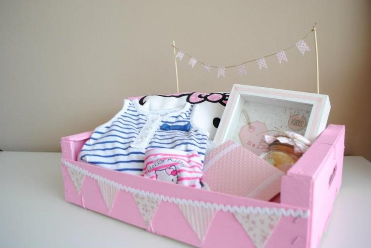 cajitas de regalo para baby shower