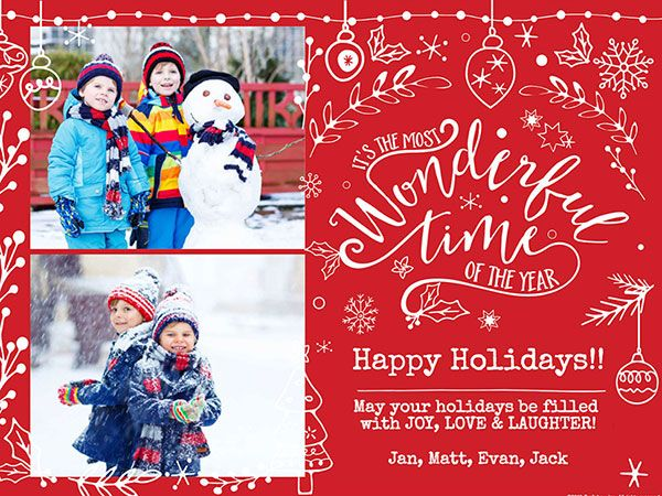 Create Your Own Christmas Cards Online Christmas Card Maker Free Online Christmas Cards Christmas Photo Card Template