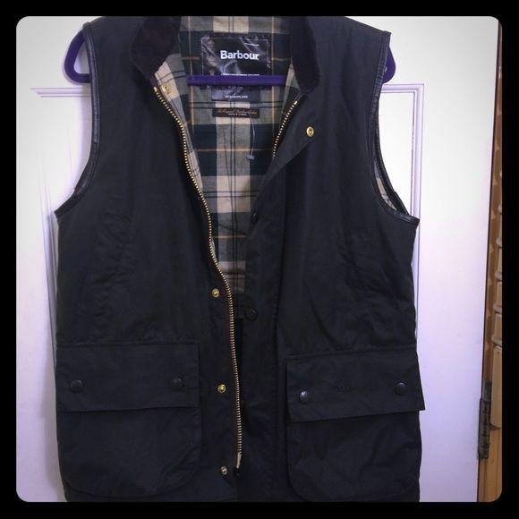 Barbour oil vest Really awsome Barbour vest wore once men's size I wear a medium Barbour Jackets & Coats Vests