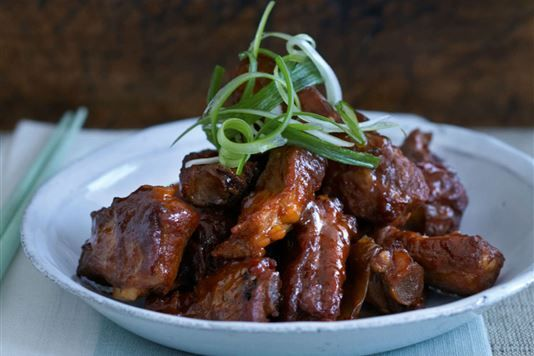 Ken Hom's chilli pork spare ribs recipe