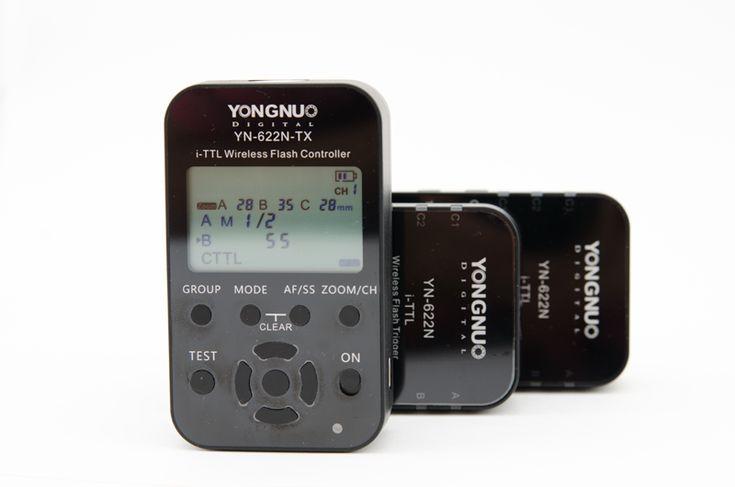 Yongnuo YN622 N TX - Transmitter & YN 622N transceivers. #YN622NTX  #YN622N