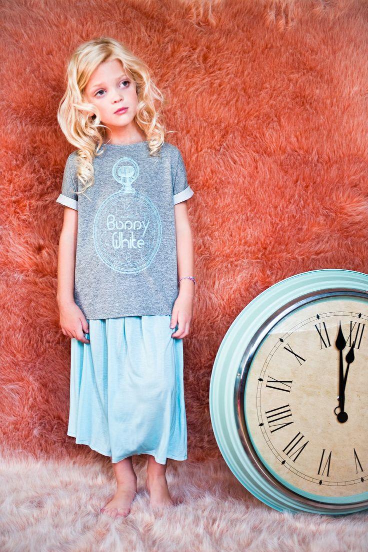 MIDI MINT s k i r t ~!  5 o'clock t-shirt  * * *