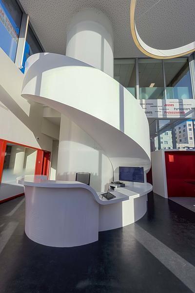 Nouvelle Agence Caisse d'Epargne à Metz 100% innovante