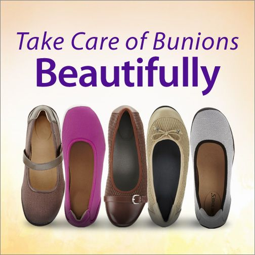 You've come to the right place if you have bunions. Choose from over 100 bunion-friendly shoes that feel good and flatter your feet, too.