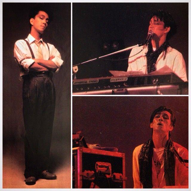 Ryuichi Sakamoto 1981 #YMO#ryuichisakamoto#坂本龍一#yellowmagicorchestra