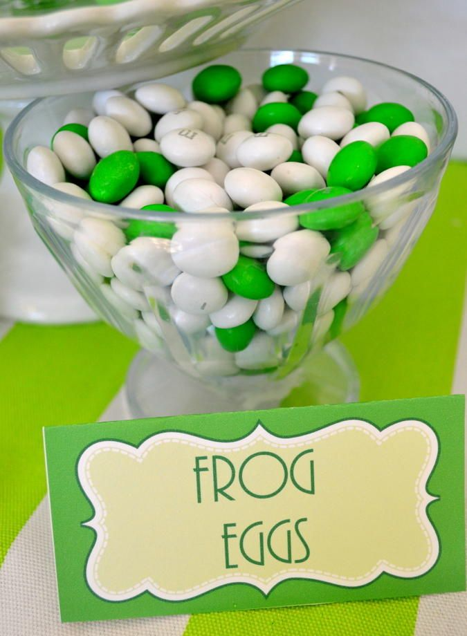 Leap Year Frog Party Food Ideas MM Eggs Grey Designs Has Lots