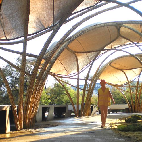 bamboo tensile structures - photo #12