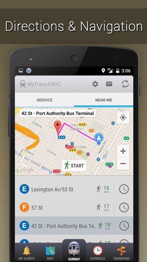 NYC Subway Real Time - screenshot