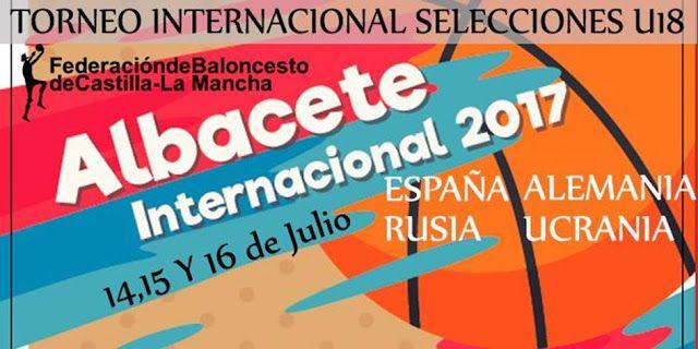 ALBACETE SEDE PREPARATORIA DEL CAMPEONATO EUROPEO DE BALONCESTO U18  Ayuntamiento de Albacete Baloncesto Campeonato Europeo U18 Deportes