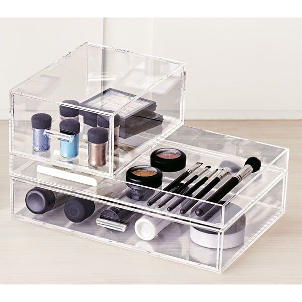 Best Cool Makeup Organizers Images On Pinterest Makeup - Container store makeup organizer