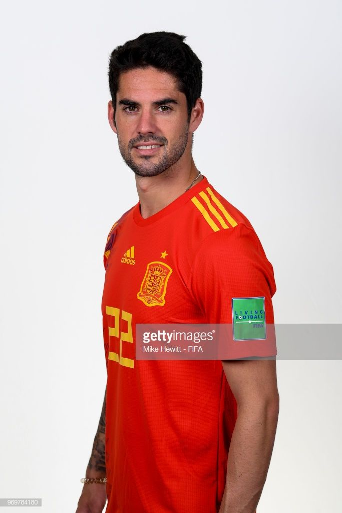 df71e3223 Isco of Spain poses for a portrait during the official FIFA World Cup 2018  portrait session at FC Krasnodar Academy on June 8