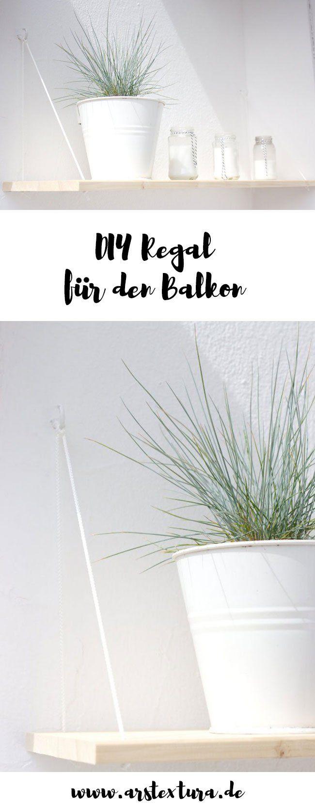 DIY Hängeregal Für Den Balkon
