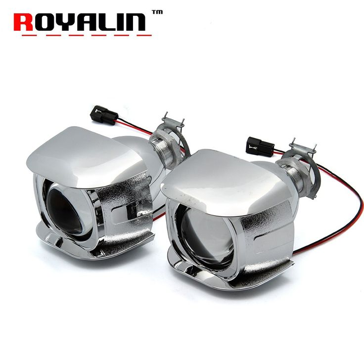Big sale US $26.39  ROYALIN Car Style H1 Bi-xenon HID Mini Projector Headlights Lens 1.8 inch for Motorcycle H4 H7 Auto Retrofits Fog Lights DIY   #ROYALIN #Style #Bixenon #Mini #Projector #Headlights #Lens #inch #Motorcycle #Auto #Retrofits #Lights  #BlackFriday