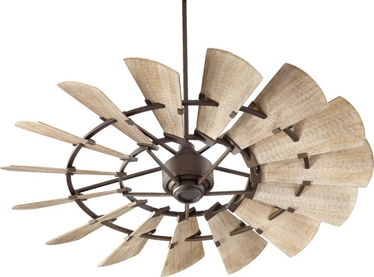 Quorum International 96015-86 Windmill 60 Inch Ceiling Fan In Oiled Bronze With 15 Weathered Oak Shade is made by the brand Quorum International and is a member of the Windmill collection. It has a part number of 96015-86.