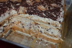… przekładaniec Król Lew ;) Ciasto naprawdę smaczne, szybkie, bez pieczenia, lekkie i pełne batonika Lion :) Do przygotowania w niecałe 3 k...