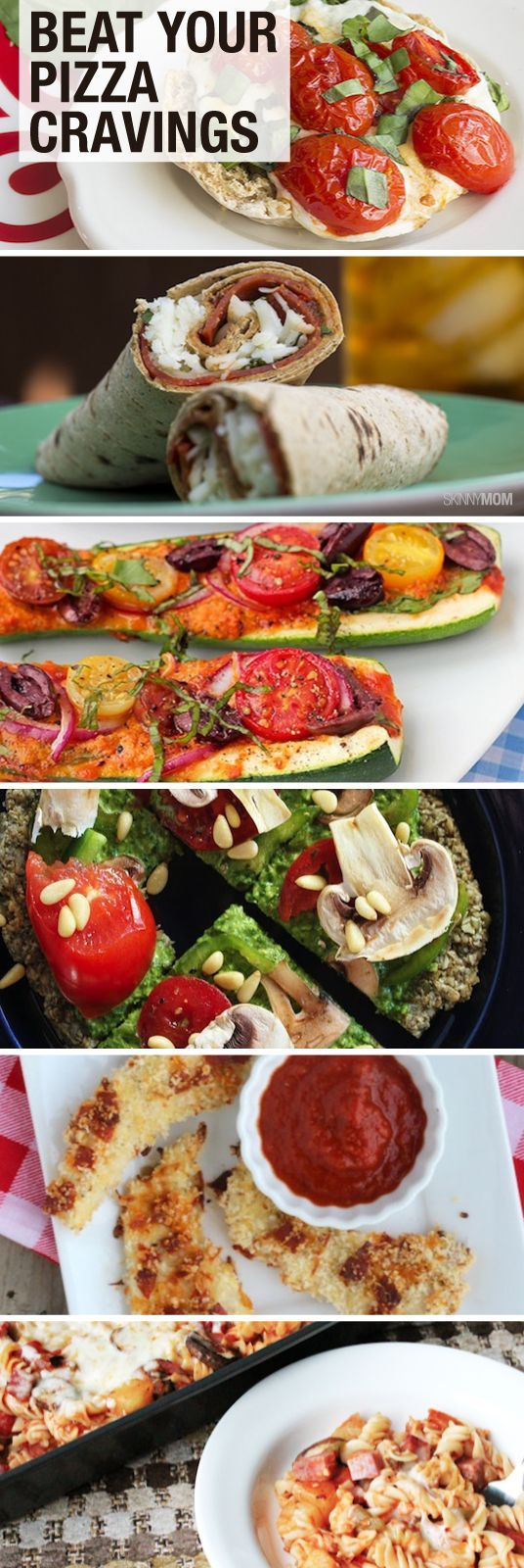 If you're a pizza lover, we've created some healthier options just for you!