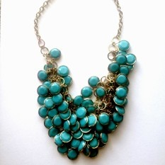 threads turquoise maggie necklace, $19.95 | threads and style