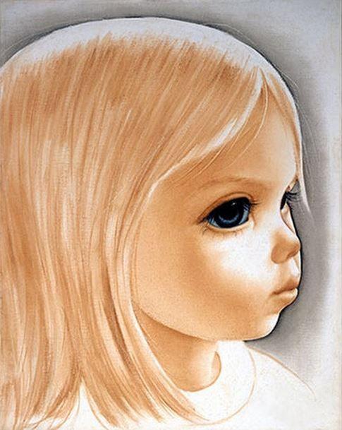 """Goldie"" ~ Margaret Keane, 1974"