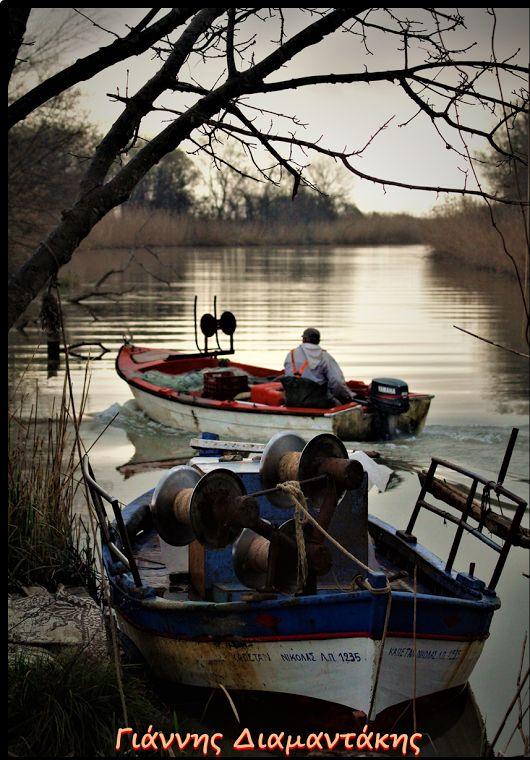 ΠΗΝΕΙΟΣ.!Οι ψαράδες ξεκινούνε...εις το πέλαγος να βγούνε...!!!