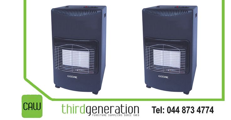 It is #SALE time at #ThirdGenerationCAW. Get this #GoldAir 3Panel gas heater for only R949 each. Price valid until 28 April 2016 or while stocks last. T's & C's apply, E&OE.
