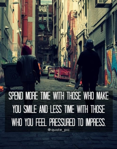 Quote #133 Spend Time With Those Who Make You Smile
