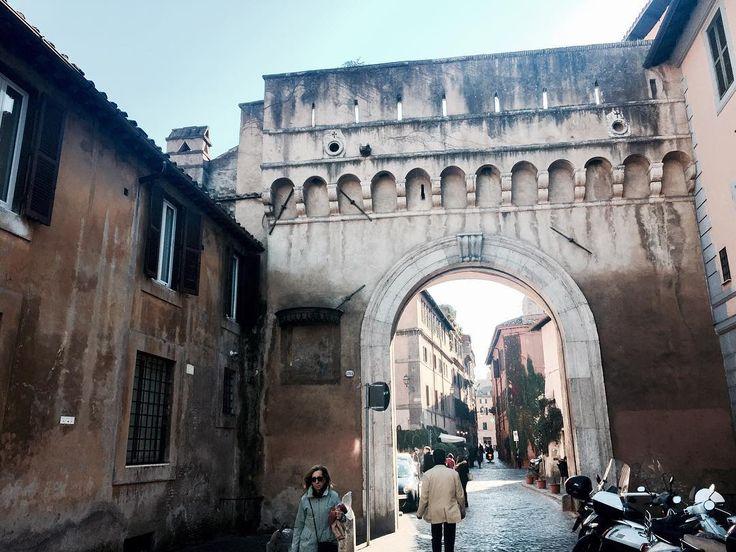 Famous Porta Settimiana