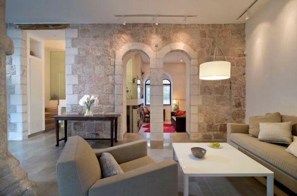 Ein minimalistisches Apartment in Jerusalem zeigt den Charme der alten Welt  - http://wohnideenn.de/wohnideen/10/minimalistisches-apartment.html #Wohnideen