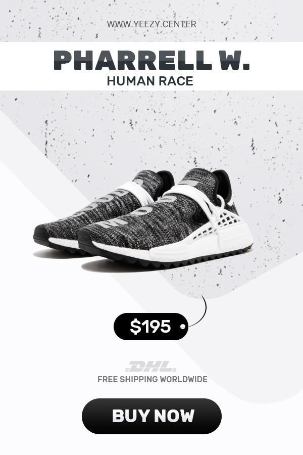 6cb58347588e8 How to get new Human Race Adidas HU Trail Core Black trainers  sneakers   fashion