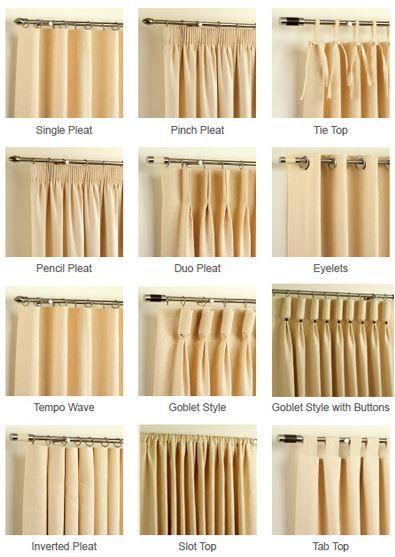 Best 25 Curtain styles ideas on Pinterest  Curtains