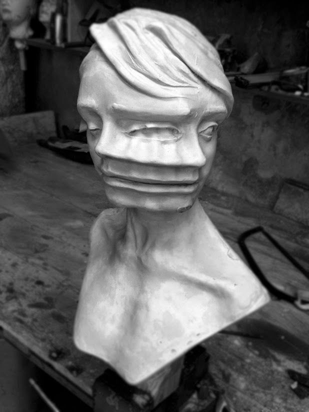 sculptures by enrico ferrarini