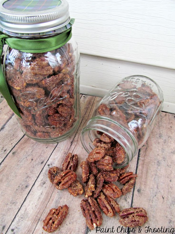 Candied pecans! Yum, Christmas: here I come!