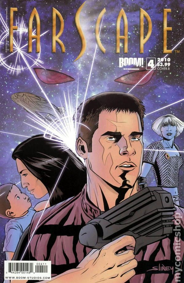 Farscape (2009 Boom Studios Ongoing) 4B Comic book covers