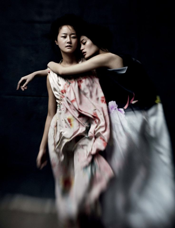Ming Xi  Hyoni Kang by Will Davidson for Dazed  Confused, Feb 2011