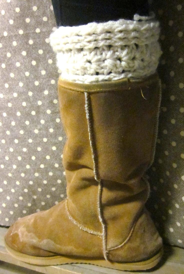 106 best crochet boot cuffs leg warmers images on pinterest boot cuffcrochet pattern bankloansurffo Images