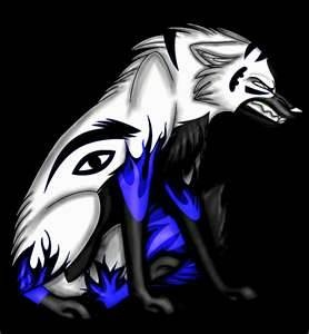 Growling Anime Wolf - Bing Images-animation insparation